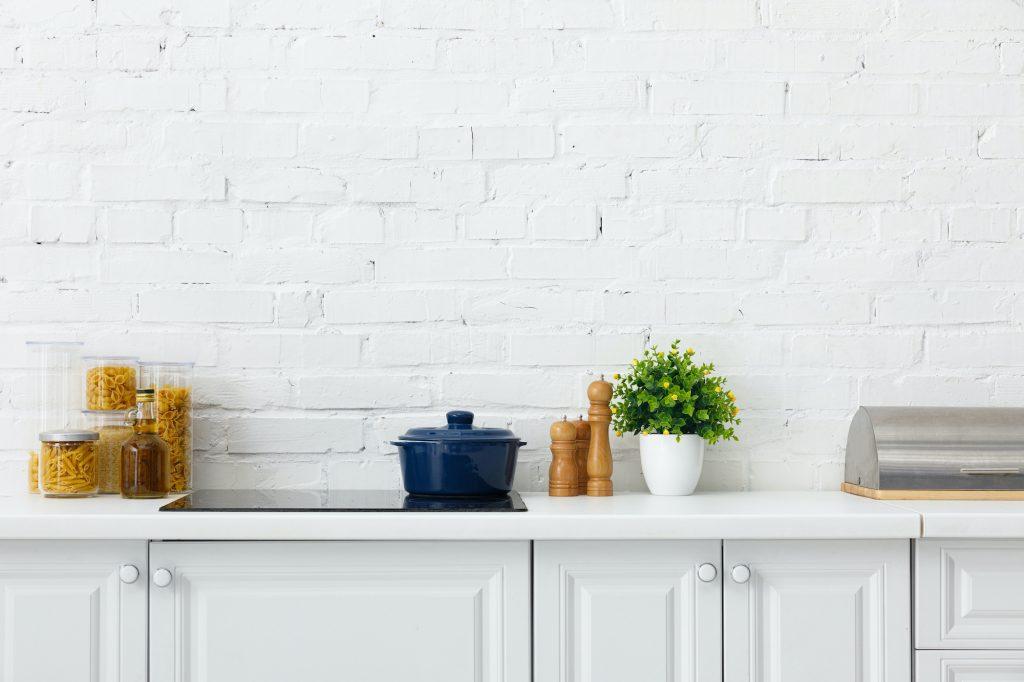 Total white kitchen