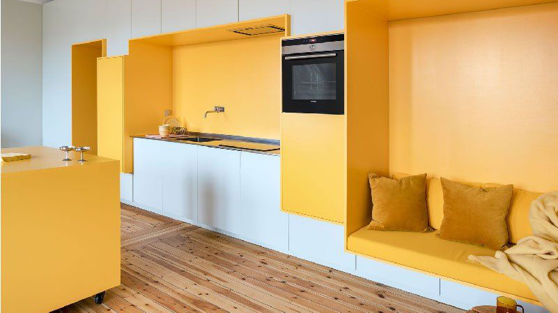 Mango yellow for your home