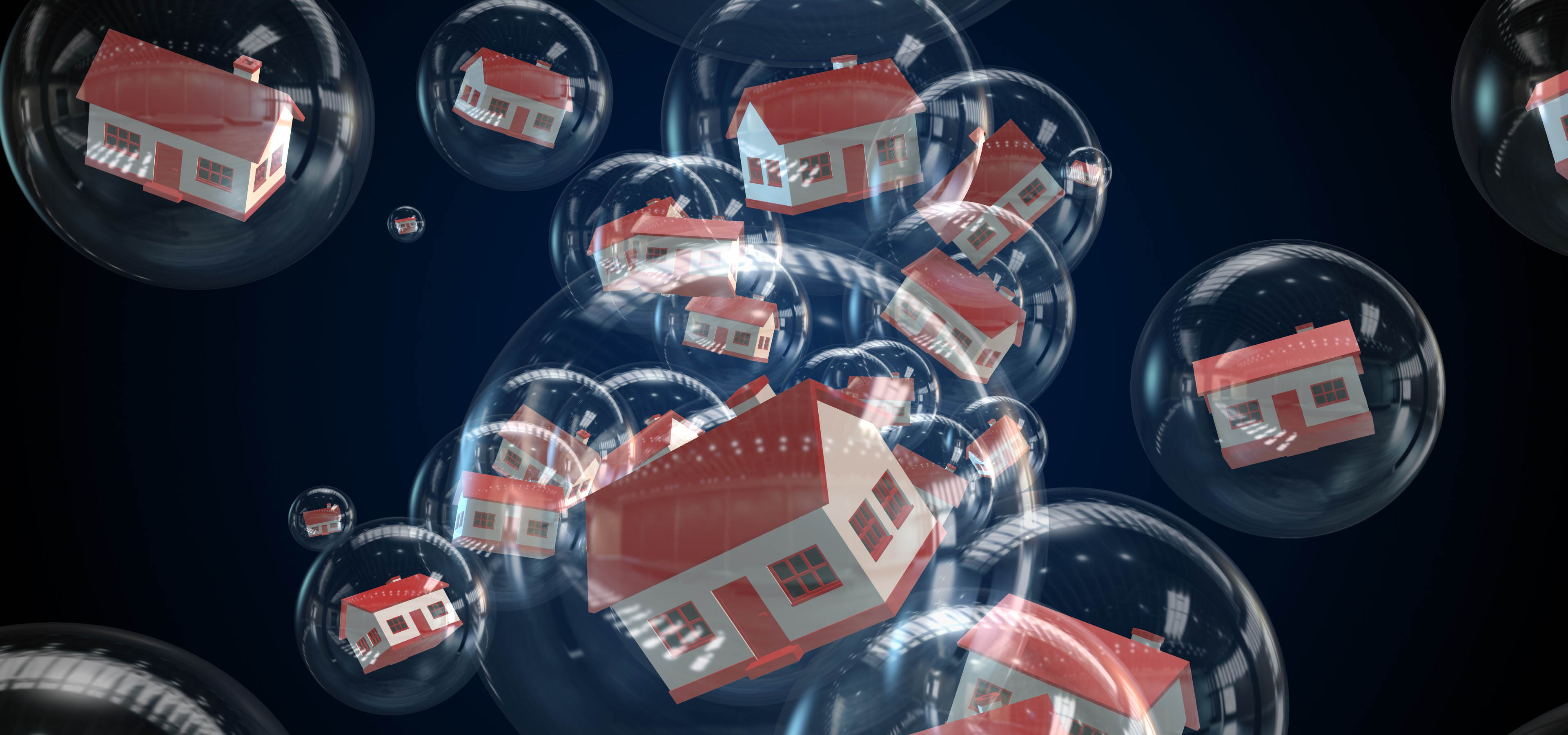 Property bubble in real estate