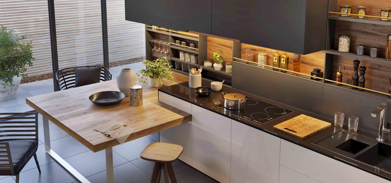 Furnishing a modern kitchen